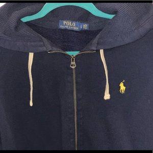 Polo Ralph Lauren men's zip up hoodie large